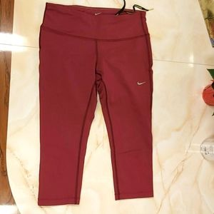 Nike running capri leggings dri-fit